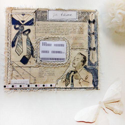 A gift for lovers, how invitate your dear to a romantic night Offer him a sweet poetic card by Lalie à sa guise   Vous savez que votre amoureux est fleur bleue, vous cherchez un cadeau romantique et un brin retro, car comme vous, il est sensible la poésie d'autrefois.
