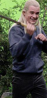 foxyfoxy:  legolas in hoodie   Awesome!