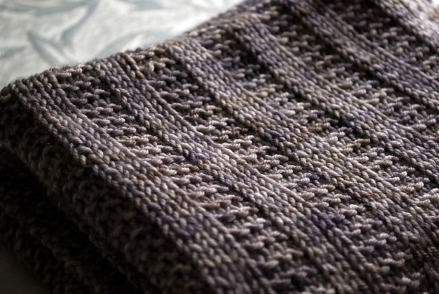 Free Pattern Ravelry: Garter Rib Baby Blanket pattern by Orange Flower