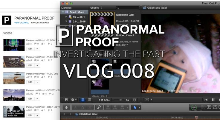 "Paranormal Proof - VLOG 008 - Class A EVP ""Get the Baby""  (During Gladst..."