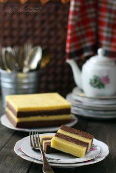 Kek Kukus Lapis Coklat Keju ~ :: Dari Dapur CT ::