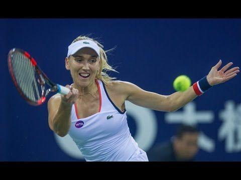 Elena Vesnina vs Kiki Bertens Highlights - WTA Elite Trophy Zhuhai 2016 ...