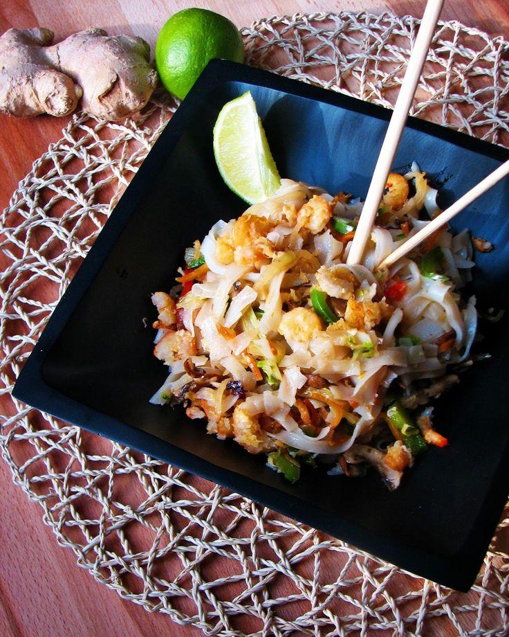 Ázsiai rizstészta saláta recept