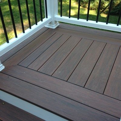 This beautiful decking and railing replacement project wrapped earlier this week… – Manuel