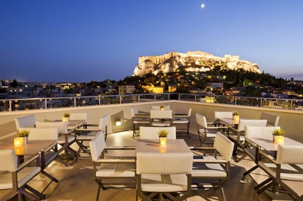Thea Terrace Bar, Central Hotel, Athens