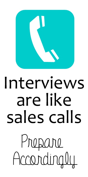 Interviewing and Sales calls have a lot in common- 4 tips to - interviewing tips