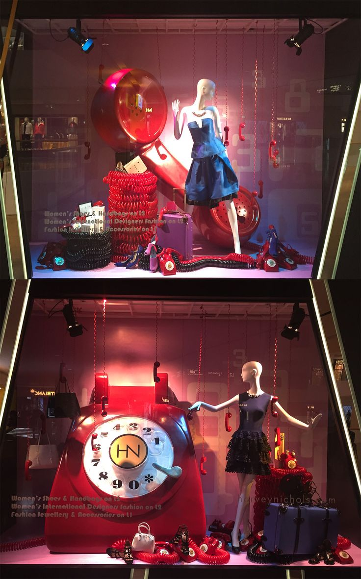 Harvey Nichols 2016 Mar Window Display