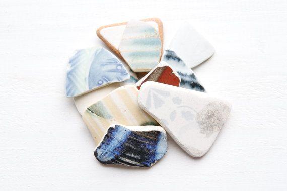 Japanese Jewelry Sea Pottery PiecesCoastal Home by ReverseGem