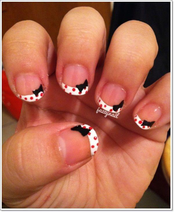 french tip nail designs 1 #nailartdesigns #nails #nailart #naildesign  #beautifulmanicure # - 18 Best French Nail Art Designs Images On Pinterest French Nails