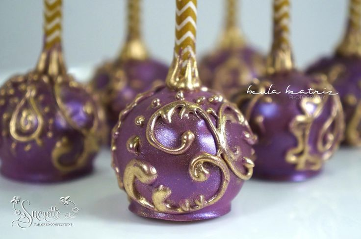 Bollywood Cake pops by Sucrette Tailored Confections