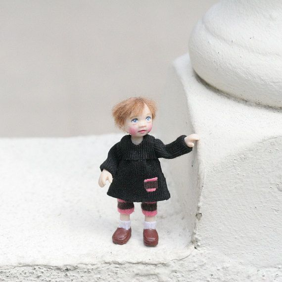 Amazing 1 12Th Scale Ooak Dollhouse Miniature Poseable Little Download Free Architecture Designs Viewormadebymaigaardcom