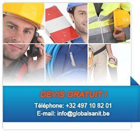 Votre plombier chauffagiste près de Bruxelles, Région Bruxelloise