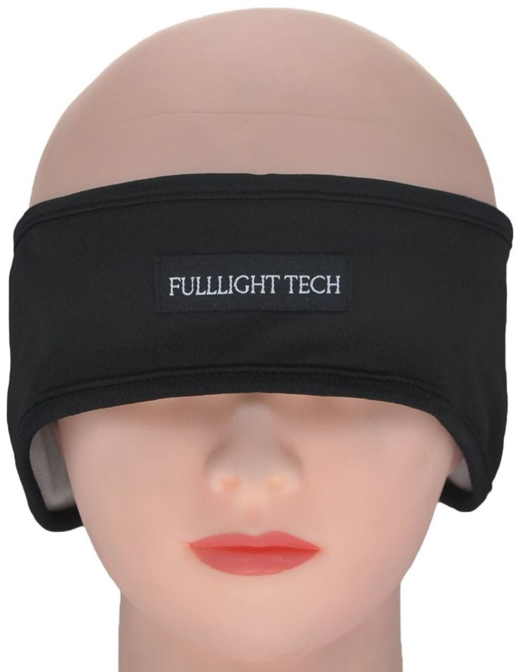FULLLIGHT TECH Ultra-Thin Sleeping Headphones Eye Mask