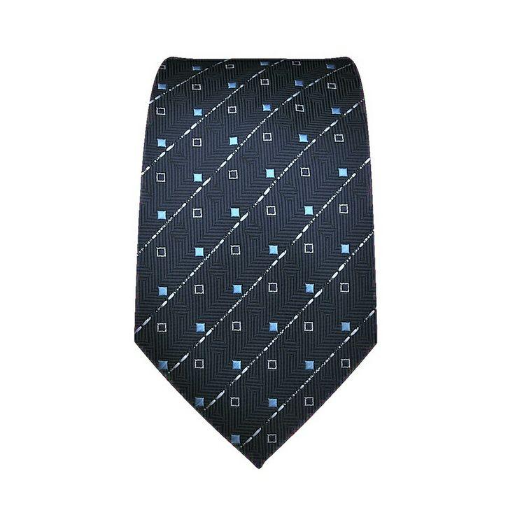 Cravatta Bambino, a motivi fondo blu