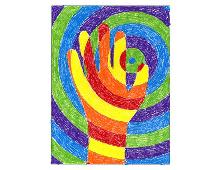 """This project is a study in warm, cool and complementary colors in a fun and popular format. My """"Warm Hand"""" file consists of Circle, Diamond and Hexagon background templates, each in right and left-hand orientation, plus instructions. PDF FILE INCLUDES: 3 Coloring templates (8.5″ x 11″) Warm Hands Coloring Guide FINISHED DIMENSIONS: 8.5″ x 11″ PURCHASING: … Read More"""