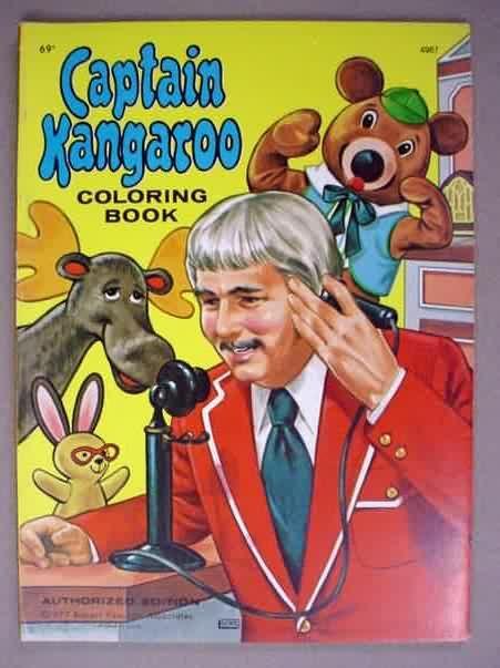 Captain Kangaroo coloring book