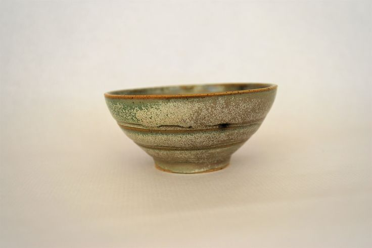 Ceramic bowl titanium glaze By Marilena Michopoulou http://marilenamichopoulouart