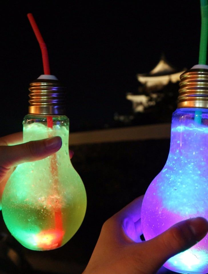 These Trendy Light Bulb Drinks In Asia Actually Glow In The Dark And We Re Obsessed In 2020 Neon Birthday Party Glow Birthday Party Glow In Dark Party