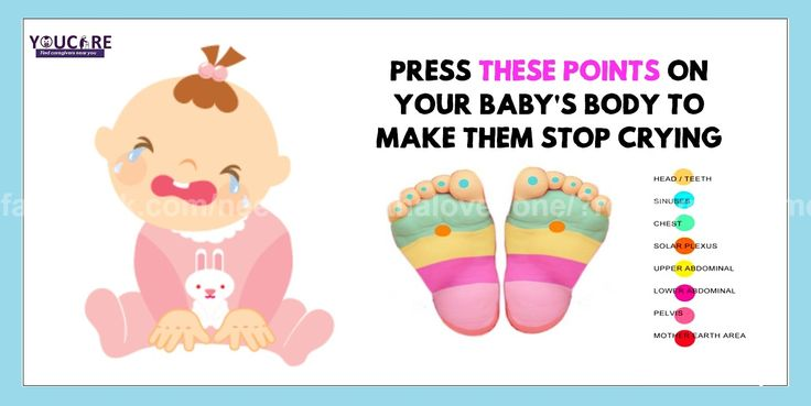 Because #babies can't express in words their pain, they attract our attention by crying. Press These Points On Your #Baby's Body To Make Them stop crying.      #childcare #babycaretips #careanddevelopment #india #uk #usa #care #babycare #childcaretips #parenting #parents