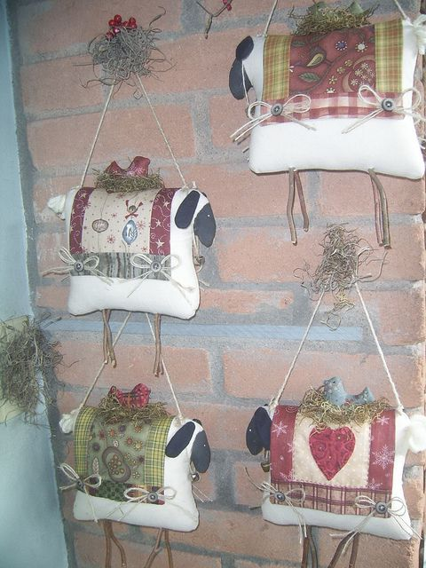 Quilts and sheep...... by Kokita Laine, via Flickr