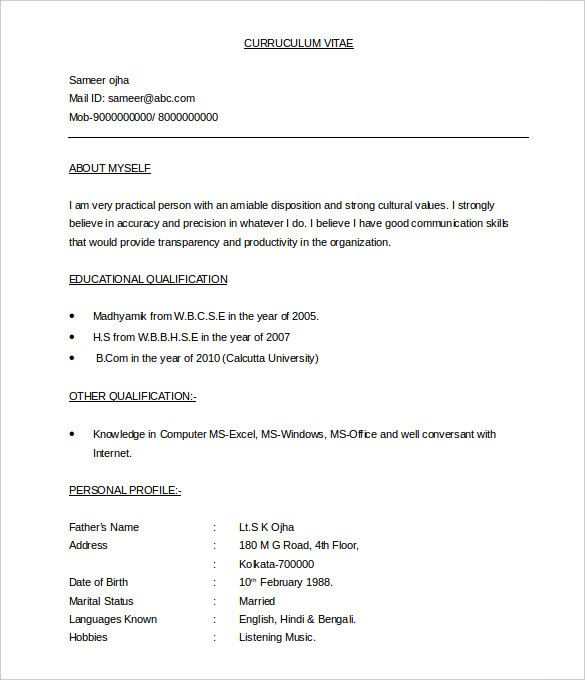37 Bpo Resume Templates Pdf Doc Free Premium Templates