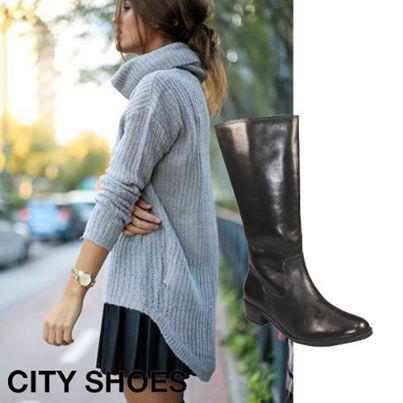 As botas de montaria além de serem super confortáveis, são muito estilosas e fáceis de combinar. Invista !  Compre aqui : http://goo.gl/aspw1U