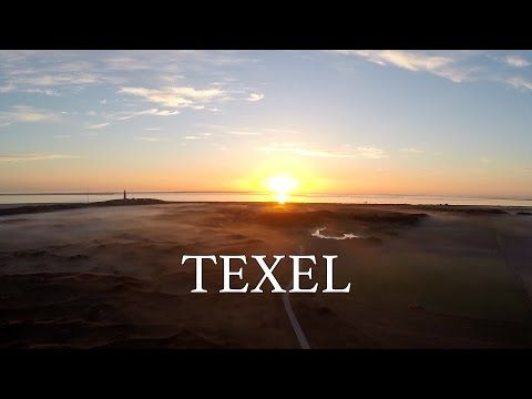 Texel in vogelvlucht bezien met een drone | Vakantie op Texel