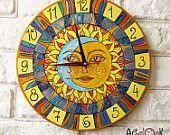 Солнце и Луна настенные часы Home Decor для детей Детские Малыш мальчик девочка Питомник игровая комната