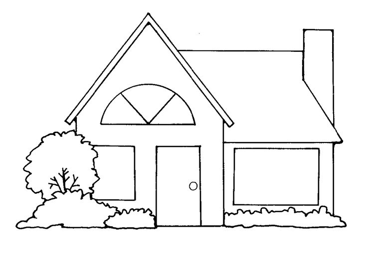 Home Mormon Share House Clipart Home Art Clipart Black And White