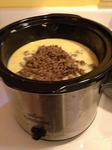 hmmm, I like my recipe but can't beat a crockpot idea! Crock