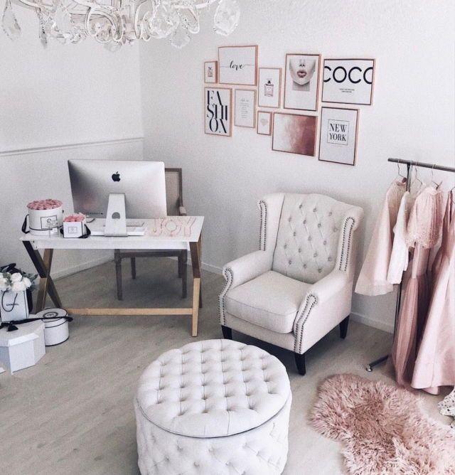 Beauty Room Decor Makeup Room Dressing Room Decor De Bureau A Domicile Rangement Pour Petite Chambre Decoration Bureau