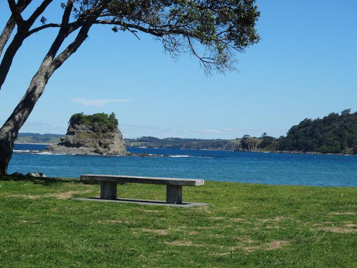 Matheson Bay Beach in Leigh New Zealand Just another beautiful New Zealand beach.