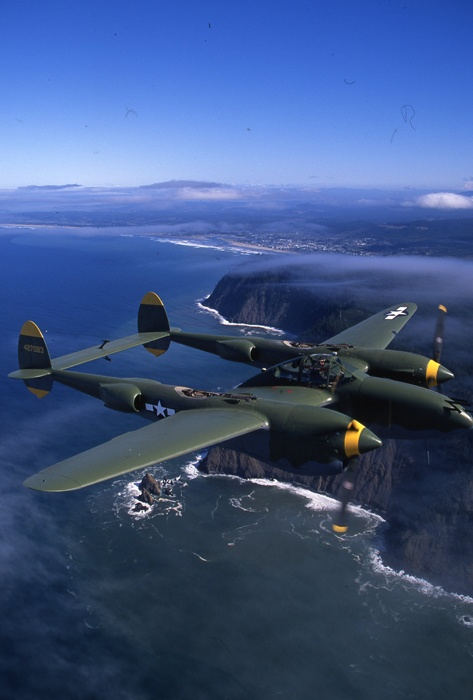 P-38... what my G-pa flew in the Pacific during WWII