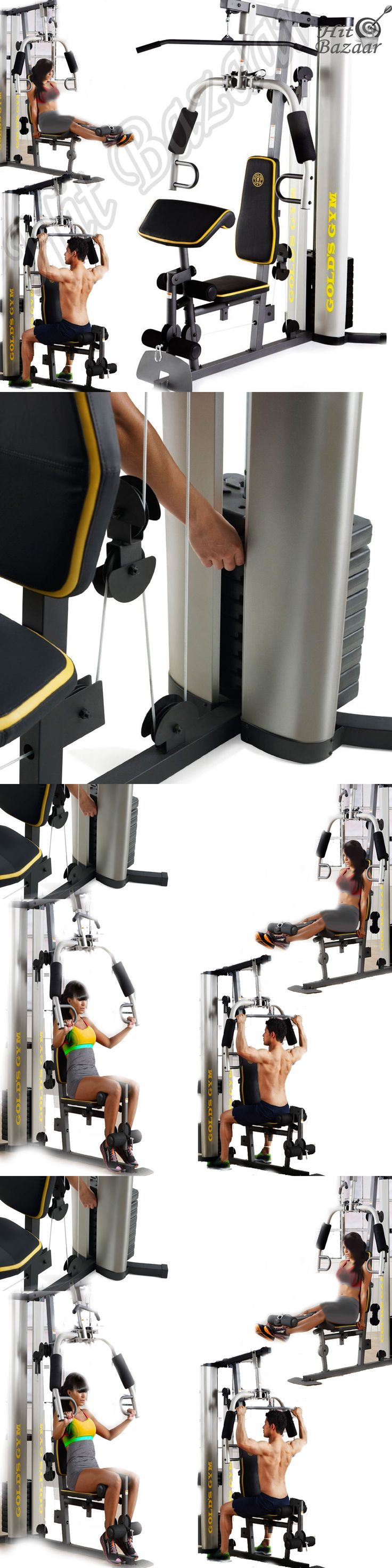 Home Gyms 158923: Gym System Strength Training Workout Equipment Home Exercise Machine Weight Lift -> BUY IT NOW ONLY: $346.22 on eBay!