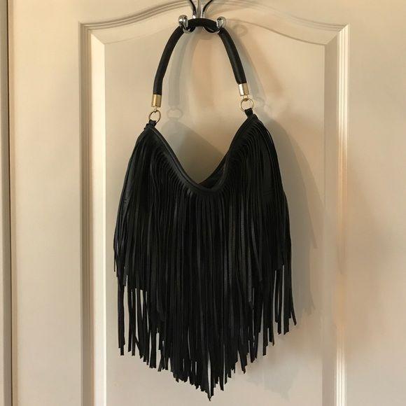 H&M Bags - H&M Black Fringe Handbag