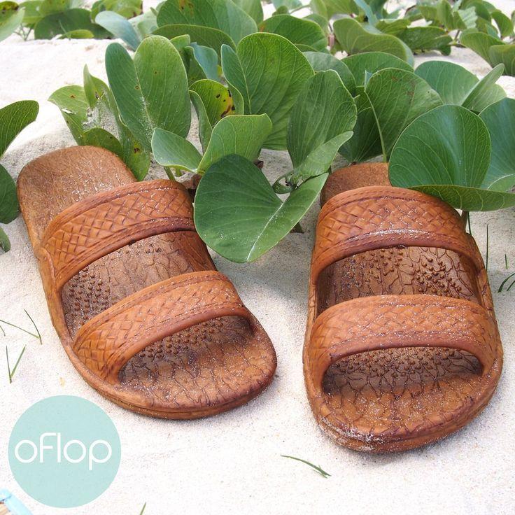 Classic Brown Pali Hawaii Sandals - The Original Hawaiian Jesus Sandals