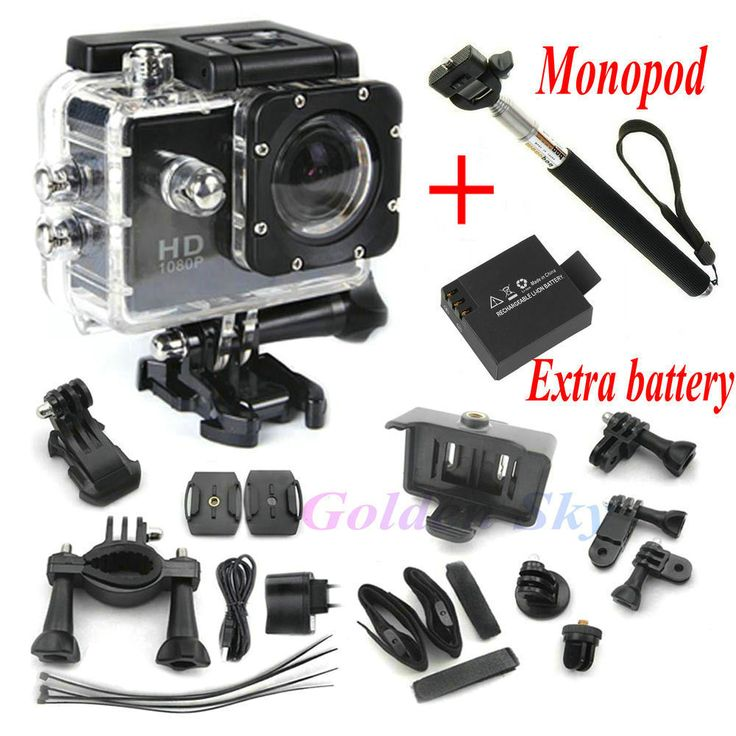 Action Camera Full HD DVR: http://www.fromastore.com/products/action-camera-full-hd-dvr-sport-dv-sj4000-1080p-helmet-waterproof-camera-1-5inch-motor-mini-dv-170-wide-angle-two-battery-monopod/ #ActionCamera #GoPro #WiFi #Camera