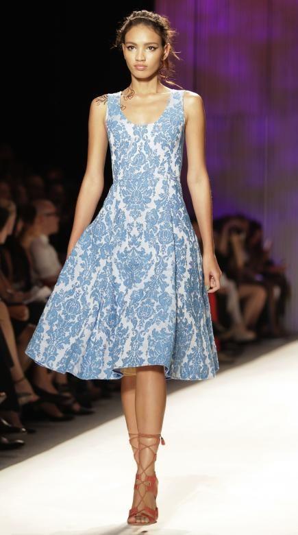 placid blue inspired dress  #PinningforPrizes #PantoneSpring2014