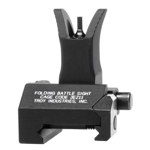 Troy Front Folding Style Battle Sight Black Hunting Shooting Equipment New