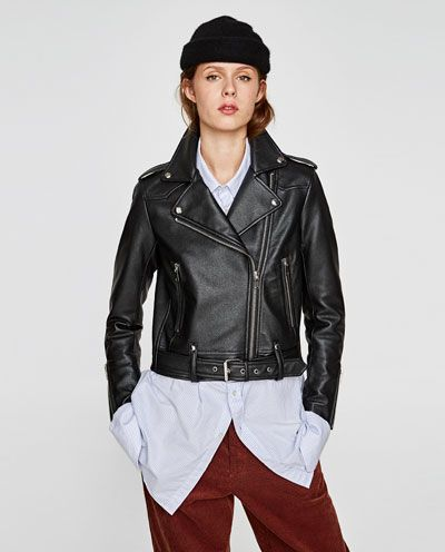 FAUX LEATHER BIKER JACKET-JACKETS-WOMAN | ZARA United States