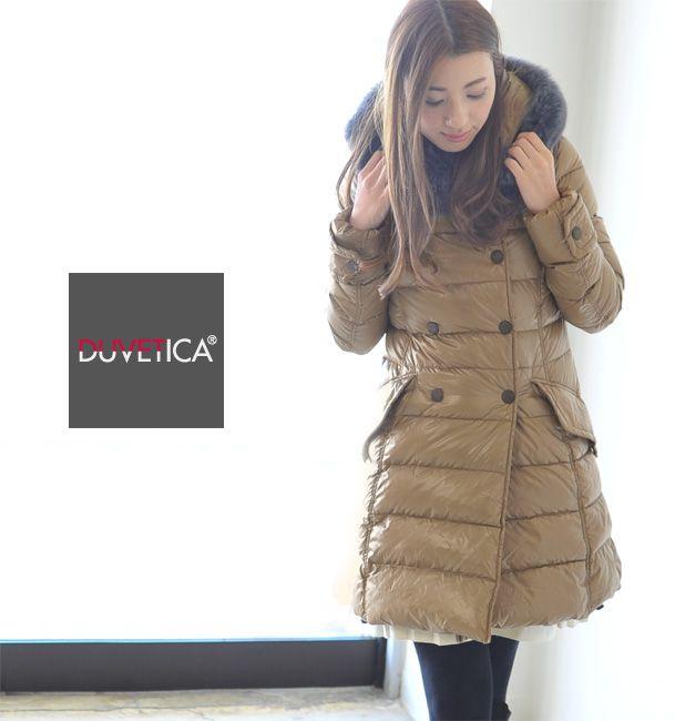 【楽天市場】DUVETICA デュベティカ/デュベチカ EFIRA blue Fur-Fox/エフィラ フォックスファー ウルトラシャイニーダウンコート(FEN 142-D.2580.00/1035.R-FGG)(全4色 Women's)(S・M・L・XL)【2014秋冬】:Crouka(クローカ)
