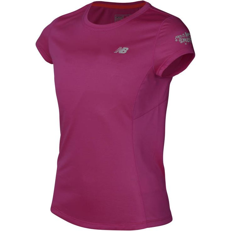 ANZ Hot Shots Girls Pink Accelerate T-Shirt - ANZ Tennis Hot Shots