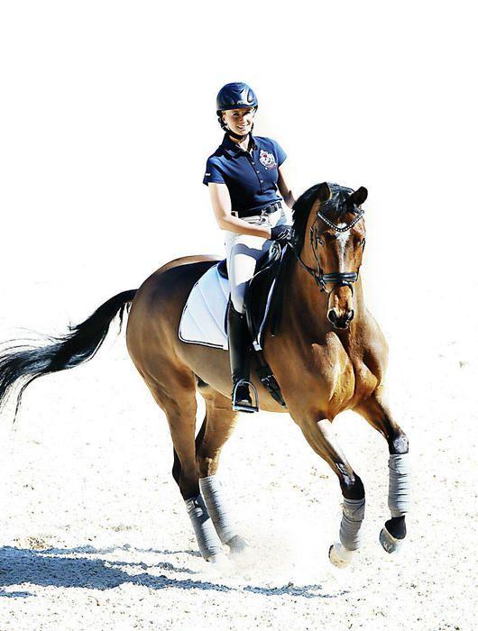 Jessica von Bredow-Werndl and her horse Zaire. I love her training and stable concept at Aubenhausen. ♡