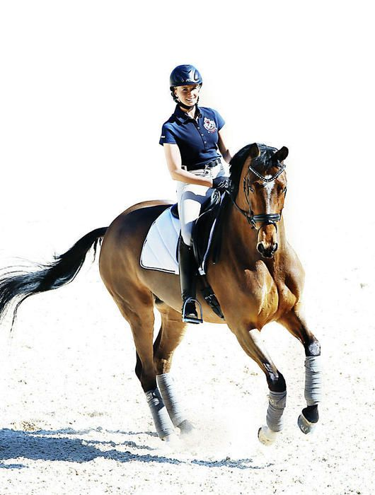 Jessica von Bredow-Werndl and her horse Zaire. I love her training and stable concept at Aubenhausen. ♡