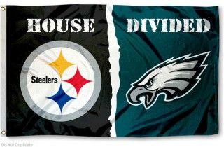 Flag for Divided House - Philadelphia Eagles vs. Steelers