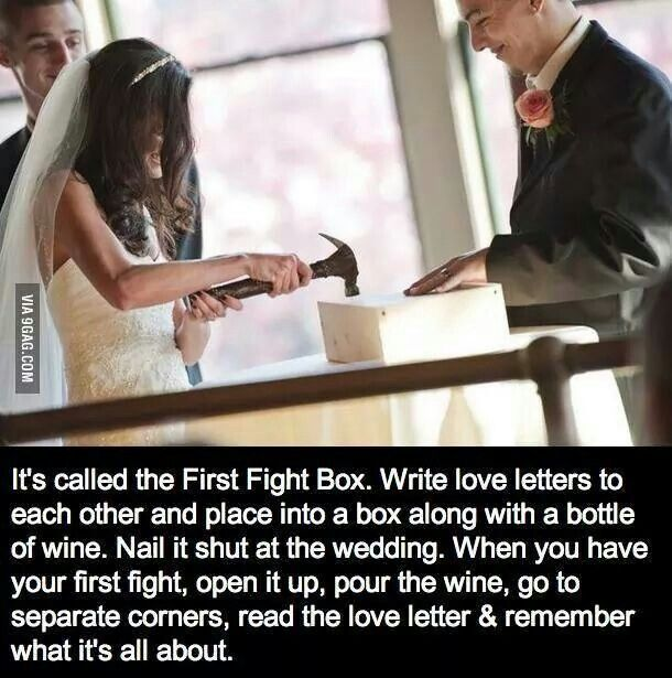 cute idea, except no wine :)