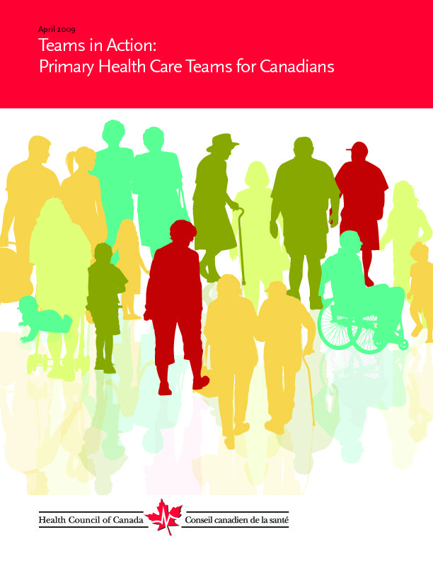 Teams in Action: Primary Health Care Teams for Canadians