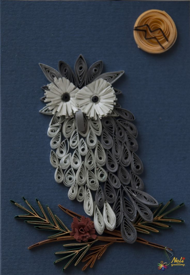 Quilled Owl by myChelsss