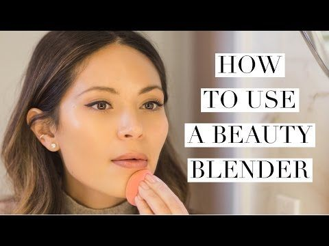 Here's the Right Way to Use a Beautyblender - Fashionista