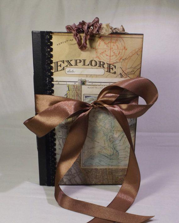 File Folder Junk Journal  Travel Journal  Scrapbook  Smash